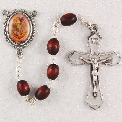 St. Michael Personalized Engraved Rosary
