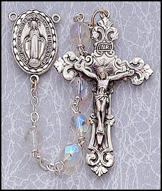 Sterling Silver Rosaries