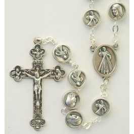 Divine Mercy Medals Rosary