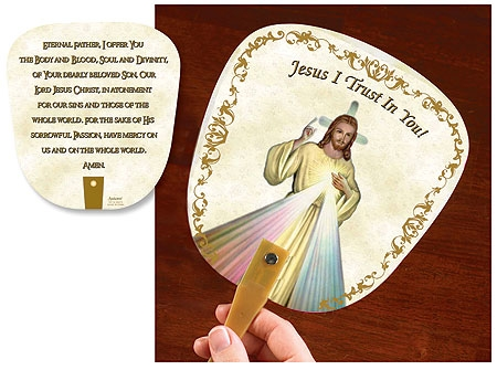 Divine Mercy Fans - buy 1 get 1 free (limit 2 per order!)