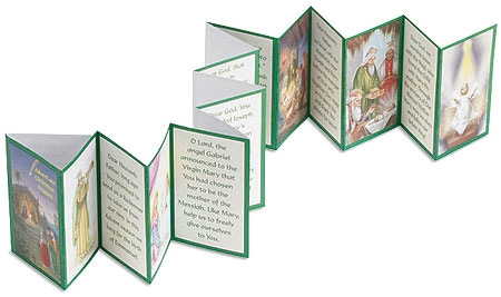 Advent and Christmas Prayers Accordion Booklets