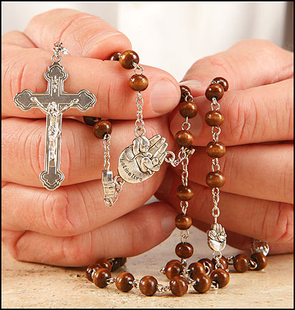 'Let me live' pro life rosary