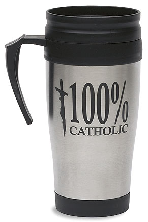 Cool 100% Catholic Stainless Mug