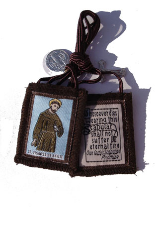 Brown St. Francis Scapular