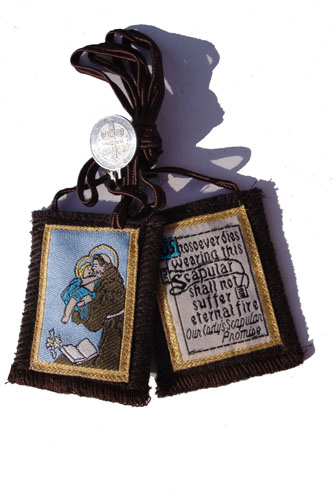 St.Anthony Brown Mt.Carmel Scapular