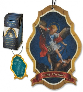 St. Michael Devotional Air Freshener