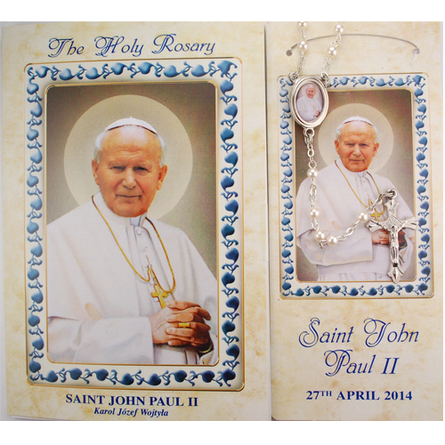 St. Pope John Paul II the Great rosary set
