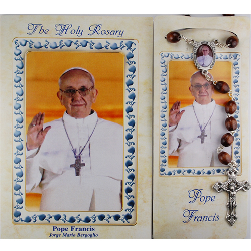 POPE FRANCIS BOOKLET W/ROSARY