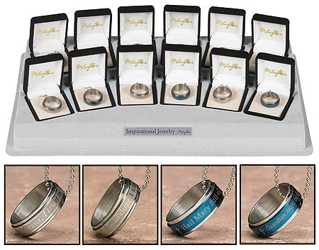 Revolving Ring Pendants