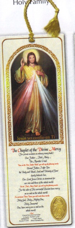 Divine Mercy Tassel Bookmark