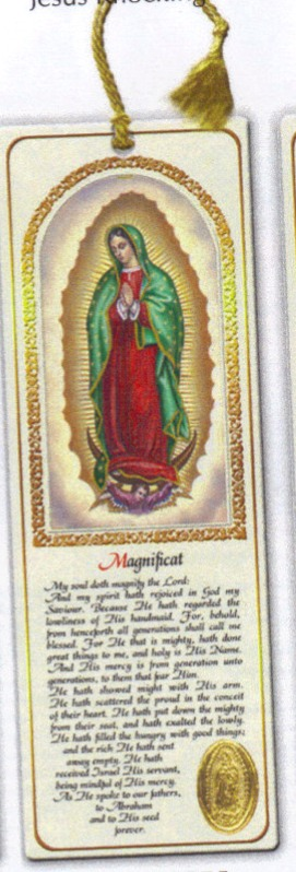 Our Lady of Guadalupe tassel bookmark