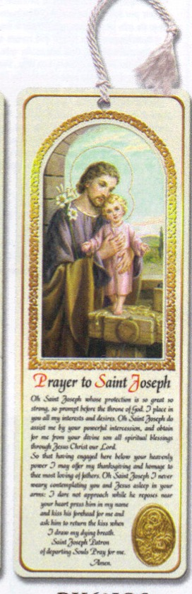 St. Joseph tassel bookmark