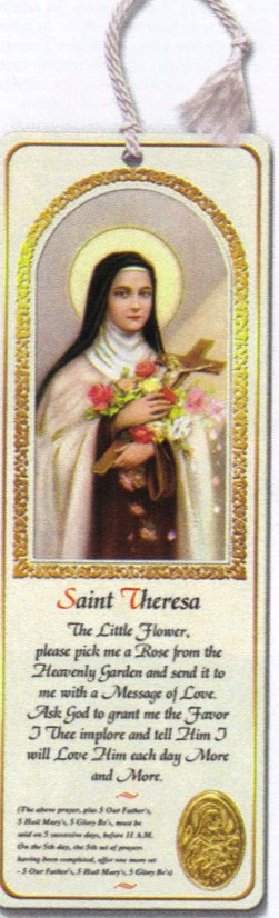 St. Therese tassel bookmark