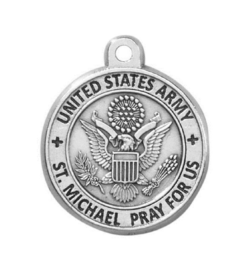 Army Service Medal on Chain