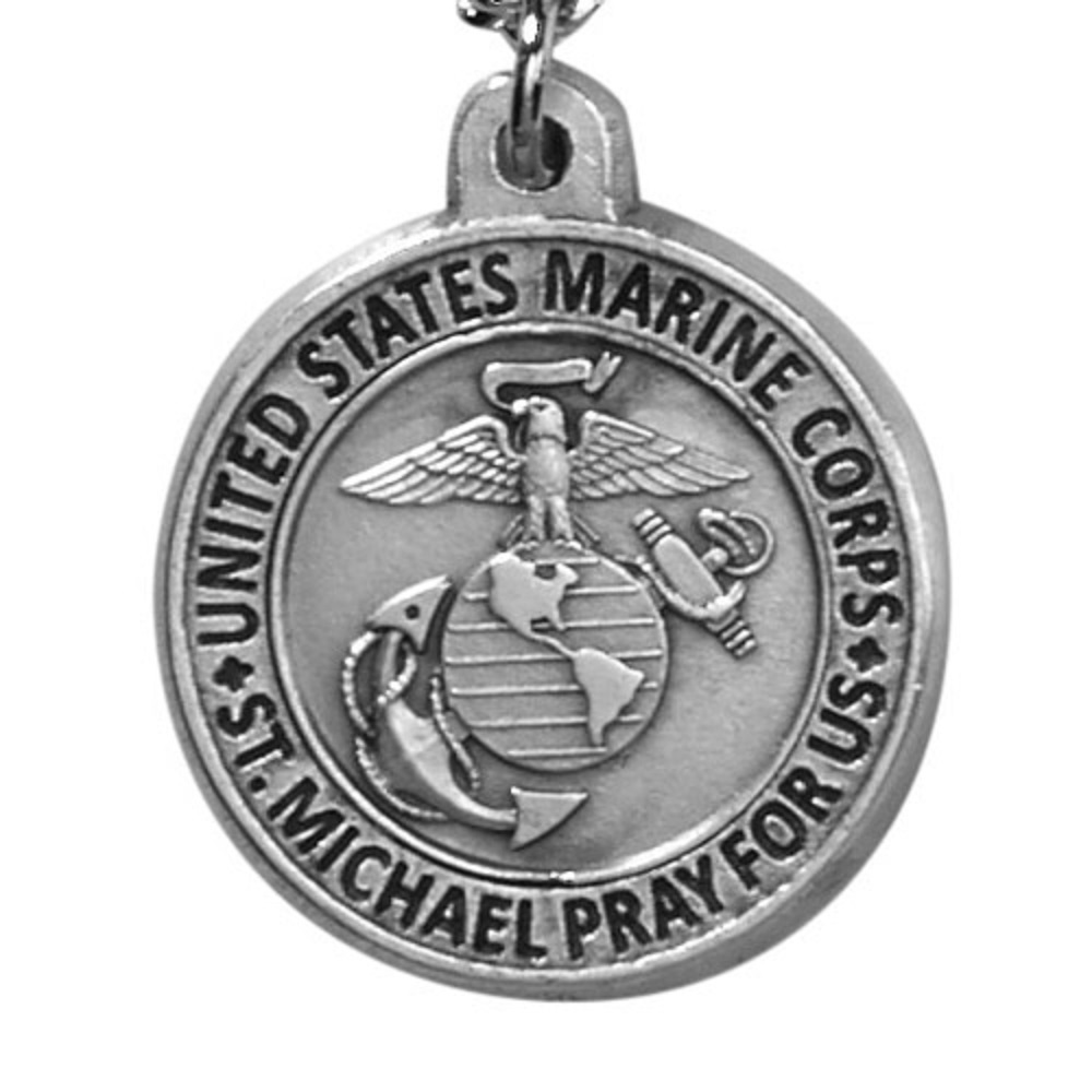Marine Corps Medal on Chain