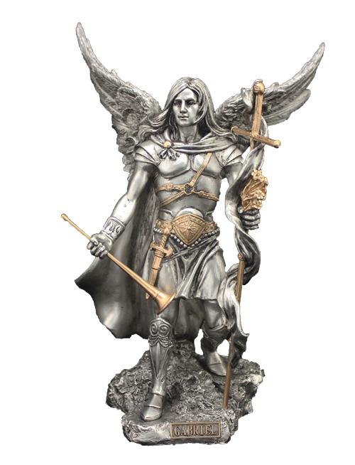 Gabriel Angel Statues Archangel St. Gabriel ...