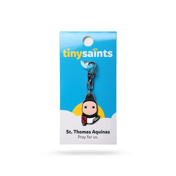 St. Thomas Aquinas Tiny Saints Charm