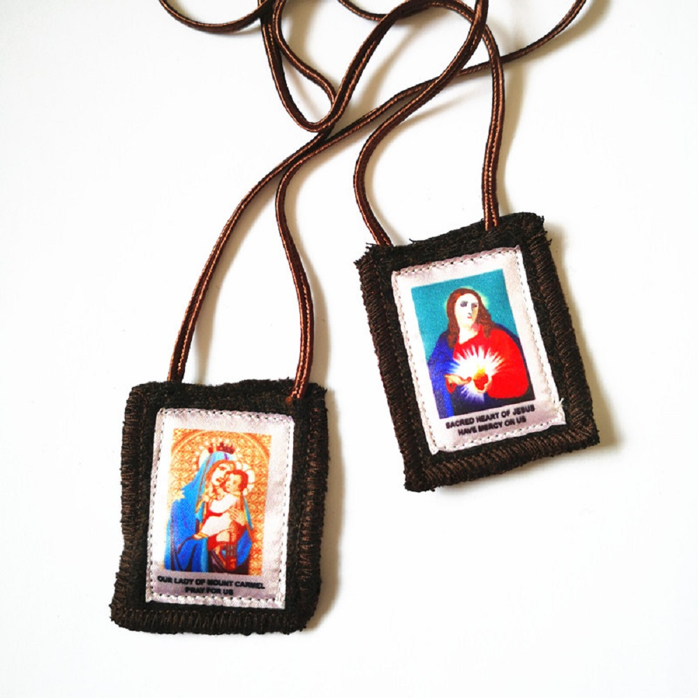 Full Color Wool Scapular