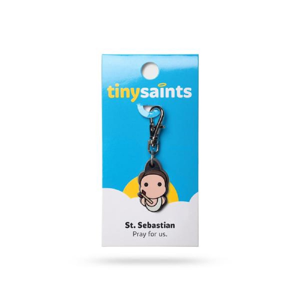 St. Sebastian Tiny Saints Charm