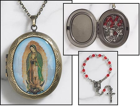 Guadalupe Rosary Locket