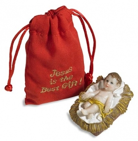 NEW Infant Jesus with Gift Bag