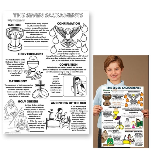 50 pack The Seven Sacraments Poster