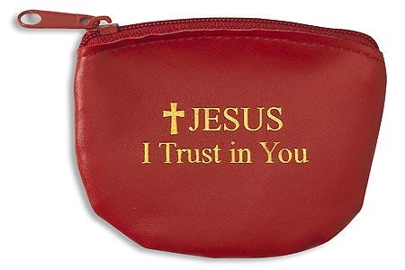 Jesus I Trust In You Rosary Case 12 pk