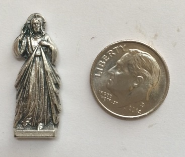 Divine Mercy Jesus Tiny Pocket statue