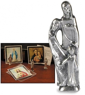Holy Family Pocket Statue