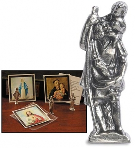 St. Christopher Pocket Statue