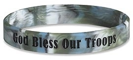 Bless our Troops Wrist Bands