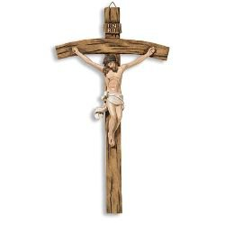 Large Papal Wall Crucifix