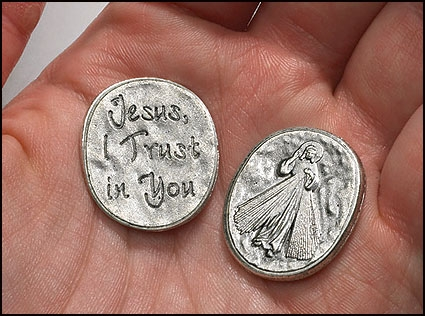 Jesus I Trust in You Pocket Token