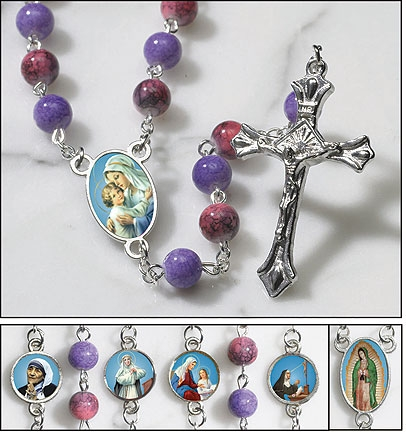 Saints for Girls Rosary