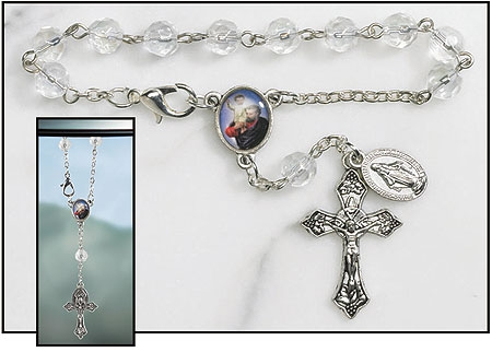 St. Christopher auto rosary