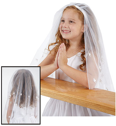 Irish First Communion Veils