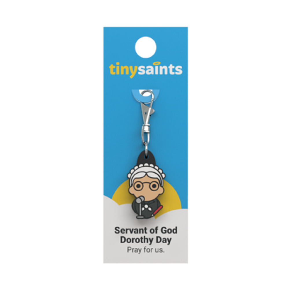 Servant Of God Dorothy Day Tiny Saints Charm