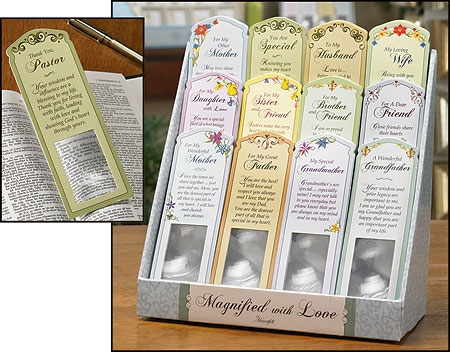 Magnifying Bookmarks