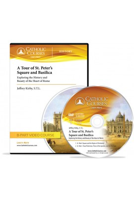 A Tour of St. Peter's Square and Basilica Video DVD