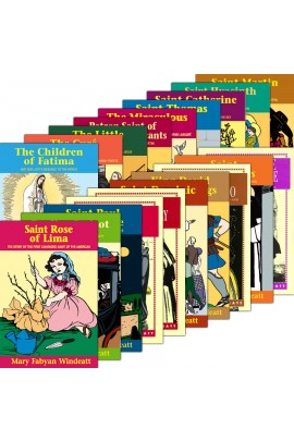 Mary Fabyan Windeatt Lives of the Saints Complete Set of 20