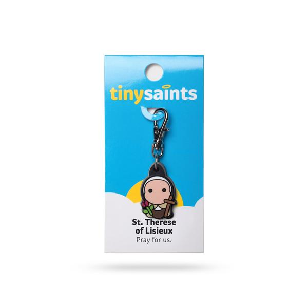 St. Therese the Little Flower Tiny Saints Charm