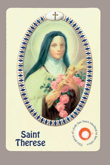 New Italian Relic Card - Therese