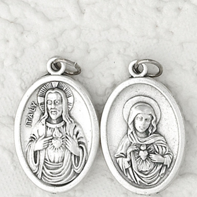 Two Hearts: Sacred Heart and Immaculate Heart