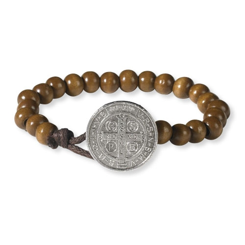 Wood Benedict Medallion Bracelet buy 1 get 1 free