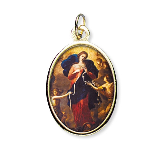 Mary Untier of Knots Color Medal