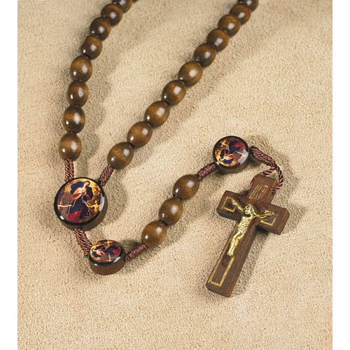 Mary Untier of Knots Value Priced Rosary
