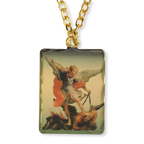 St micheal and the holy angels saint michael patron saint pendant mozeypictures Gallery