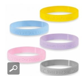 Precious Moments Bless your Soul Silicone Wristbands