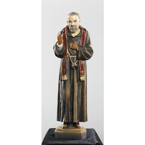 St. Pio Colored Statue