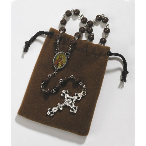 St. Joseph rosary in pouch